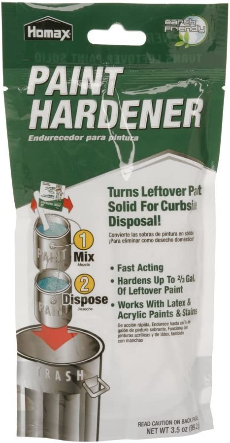 Homax Max 47% OFF 3535 3.5 Oz Away safety Paint Waste Hardener