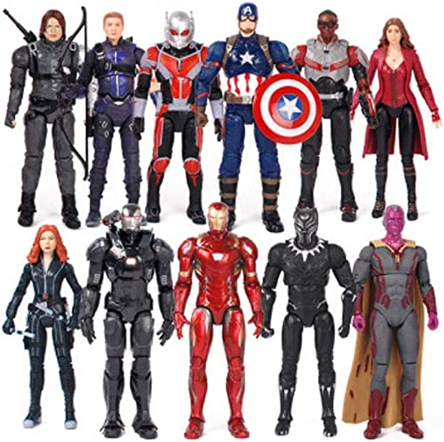 Fting Jouets - Marvel Toys - Avengers 3 4-Articulations - Spider-Man   Panthers   Captain America   Iron Man ( Couleur   K )