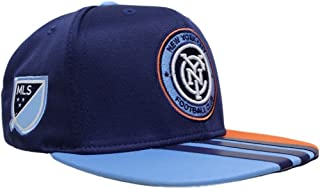 adidas New York City FC MLS 2017 Authentic Team Performance Snap Back Hat