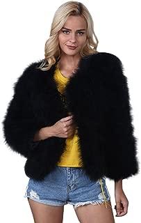 Best black ostrich jacket Reviews