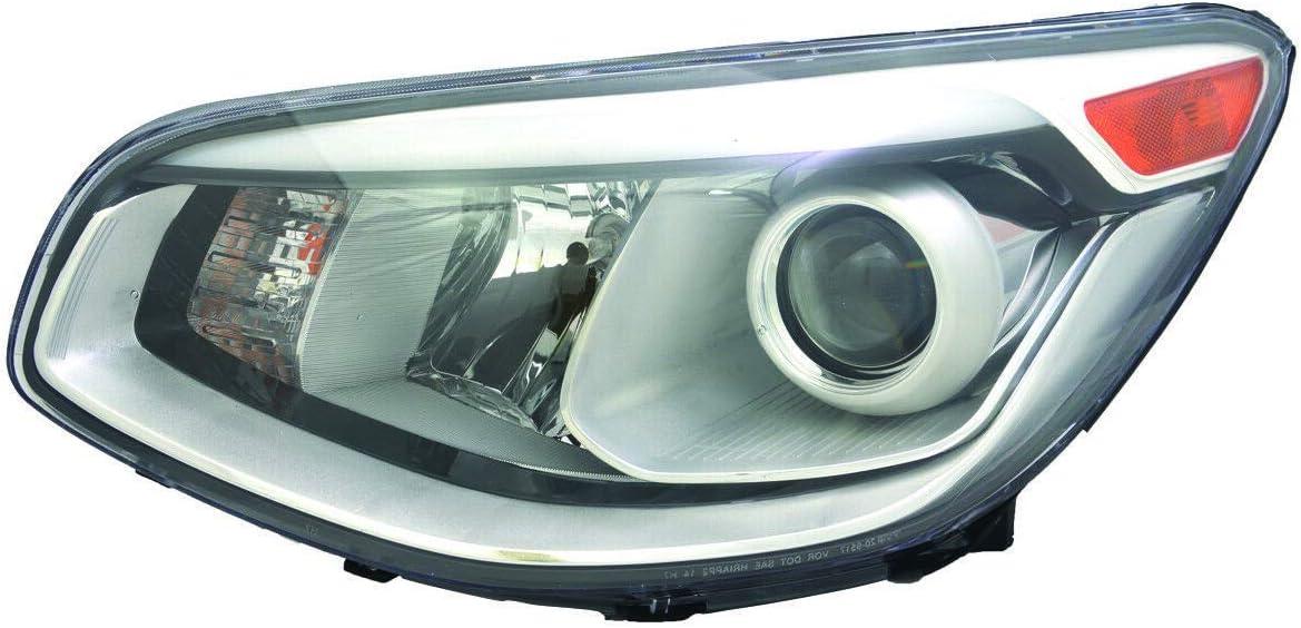 Driver Side latest Halogen Head Light 92101B2050 Assembly KI2502168 Fees free!! 201