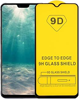 Glass Screen Protector 9D Full Glue For OPPO F11 - Black