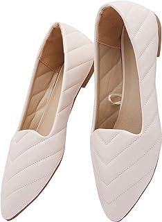 shoexpress Women's Casual Shoes, 41 EU, Nude