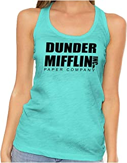 Brisco Brands Dunder Paper Company Mifflin Office TV Show Racerback Tank