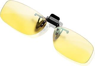 KLIM OTG Eyewear Clip op glazen tegen Blue Light NIEUW - Goede bescherming op het werk op het scherm - Gaming Eyewear PC M...