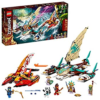 LEGO NINJAGO Catamaran Sea Battle 71748 Building Kit  Ninja Playset Featuring Catamaran Toys and NINJAGO Kai Jay and Zane  Best Gift for Kids Who Love Creative Play New 2021  780 Pieces