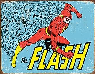 Desperate Enterprises The Flash - Retro Tin Sign, 16