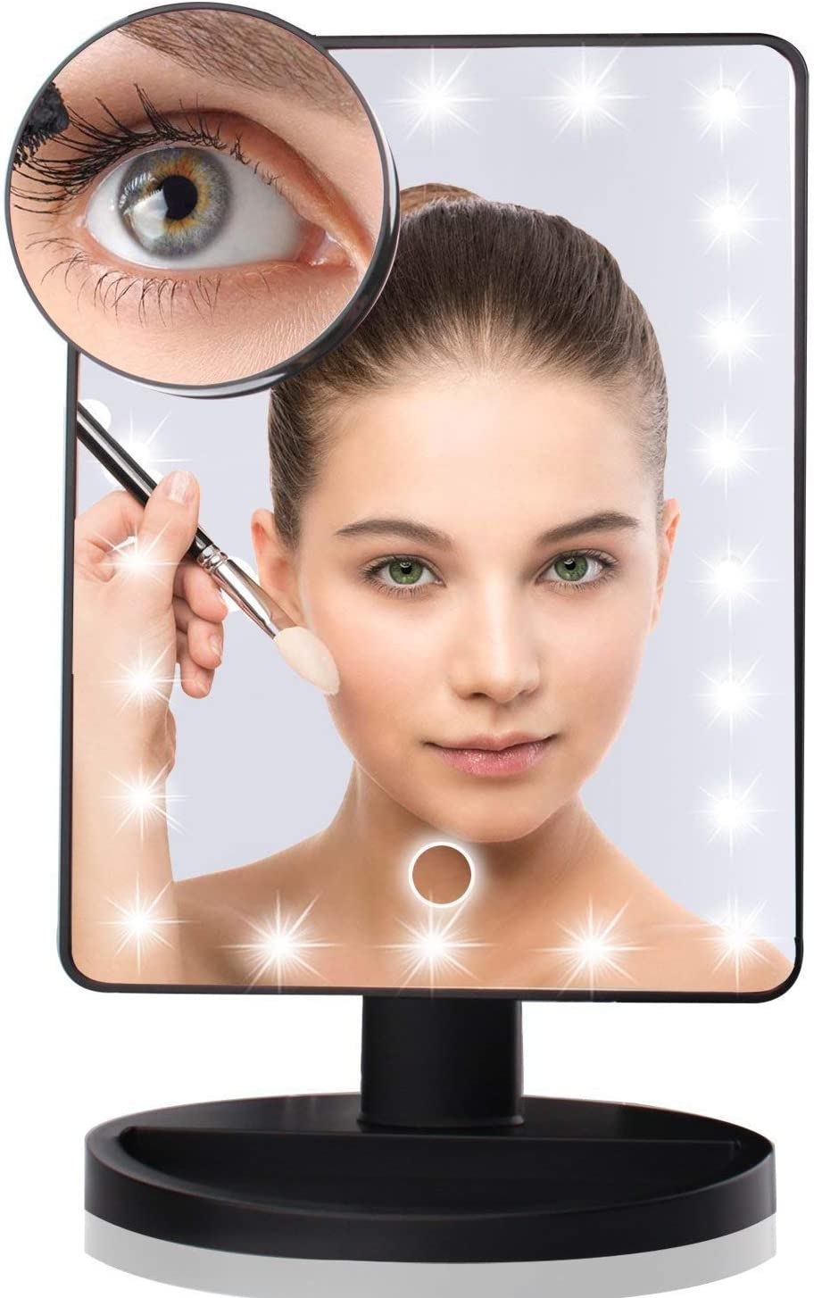 KXA LED Makeup Cheap super special price Mirror 22 Touch Light Screen Up Illuminated Attention brand