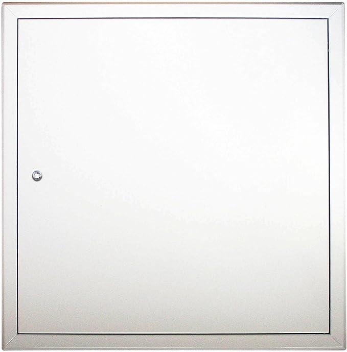 Decken- und Wandmontage Alle Gr/ö/ßen 300x600 Revisionst/ür Stahlblech Revisionsklappe Markenqualit/ät RUG SEMIN Softline wei/ß beschichtet