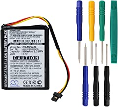 Cameron Sino 900mAh Battery for Tomtom 4EE0.001.22, One V4, One V4 Assist, One V4 Classic, One V4 Traffic with 7/pcs Toolskits