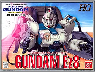 Bandai Hobby RX-79 (G) Gundam EZ8 Bandai HG The 8Th MS Team Action Figure