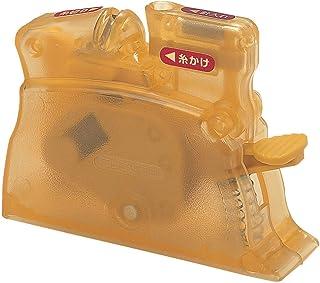 Clover デスクスレダー 卓上型糸通し器 イエロー 10-517