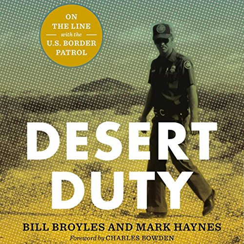 Desert Duty audiobook cover art