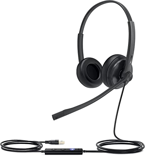 Yealink UH34 Dual UC Wired USB-A Headset