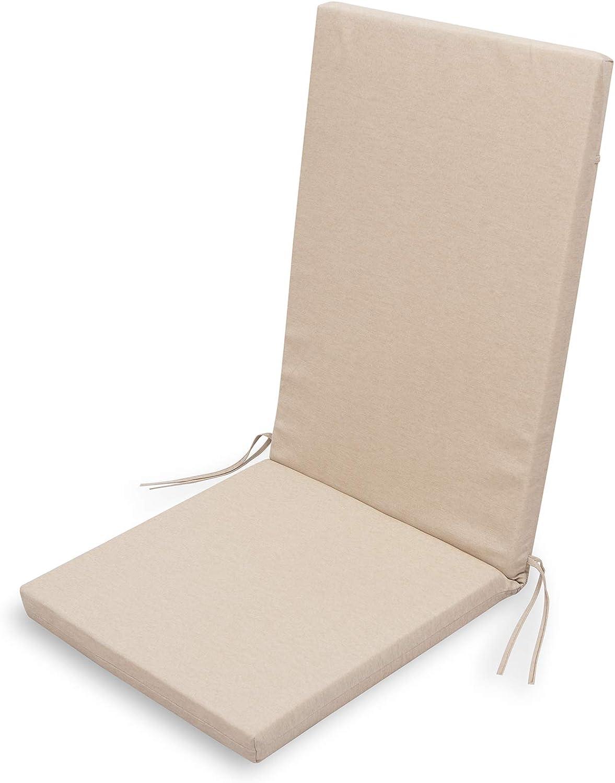 Chillvert KAN120 Cuscino Gand/ía sedia cammello sfoderabile 90 x 45 x 4,5 cm