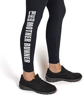 5dd236d2261c8 One Bad Mother Runner Leggings | Running Leggings by Gone For a Run |  Multiple Colors