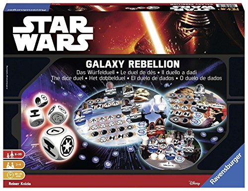 Unbekannt Ravensburger 26665 Star Wars Episode Vii Galaxy Rebellion Game