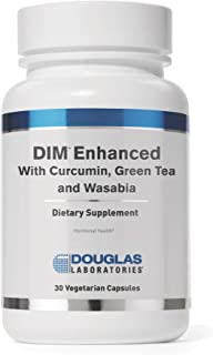 Douglas Laboratories - DIM Enhanced - with Curcumin, Green Tea, and Wasabia to Support Healthy Estrogen Hormone Balance and Immune Health* - 30 Capsules