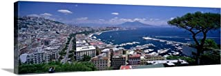 Solid-Faced Canvas Print Wall Art Print Entitled Naples Italy 60