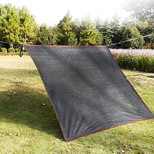 H.ZHOU - Cubierta para sombra de pérgola con ojales rectangular/cuadrado para sombrilla con 90% bloqueo, a prueba de polvo y resistente al viento, 3,5 x 8 m, 0915