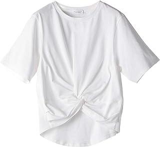 [ビューティ&ユース] BY フロントクロスショート Tシャツ 16171995374 レディース