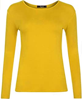 Papaval Girls Kids Casual Long Sleeve Loose Tunic T Shirt Blouse Tops Crew Uniform