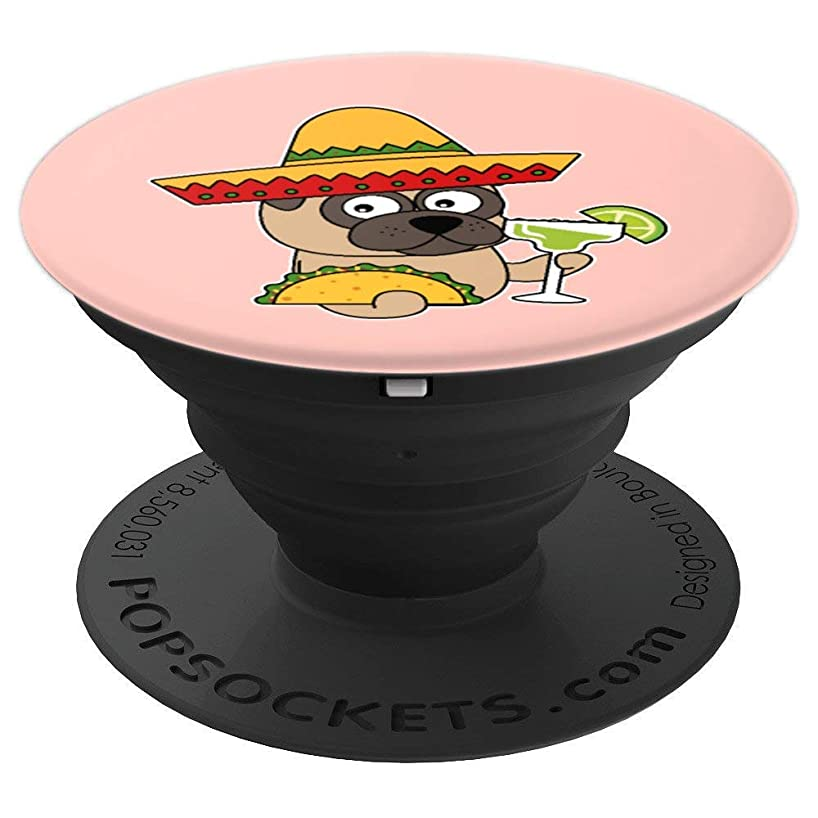 Dog Taco Drinking Tequila Cinco De Mayo Pop-Socket Gift - PopSockets Grip and Stand for Phones and Tablets