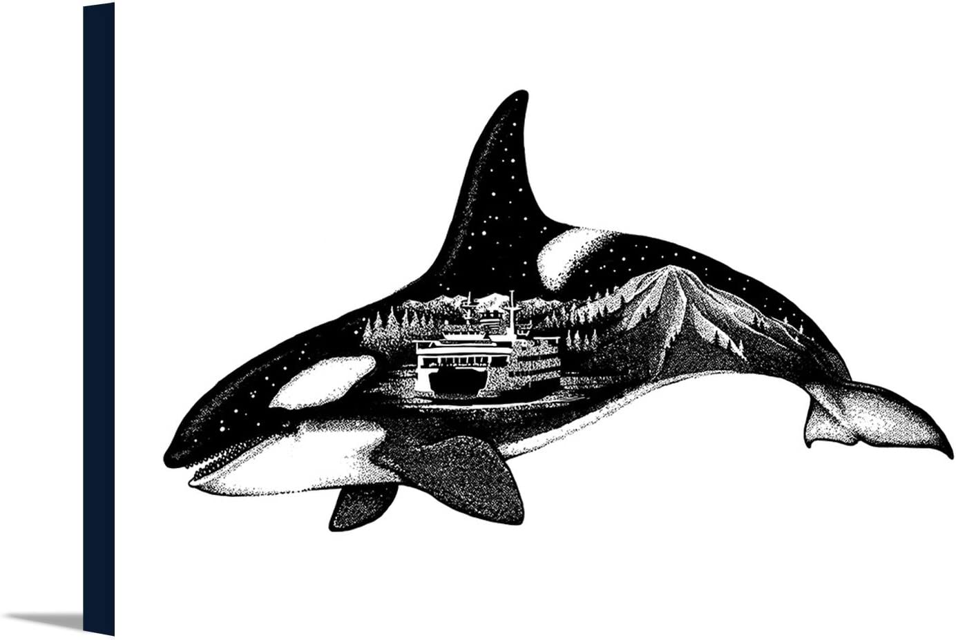 Washington Max Max 51% OFF 80% OFF Orca Ferry and Mount 18x Rainier Exposure Double
