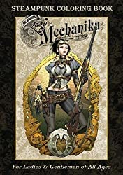 Lady Mechanica Steampunk Coloring Book Volume 1