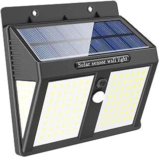 146 LED Luz Solar Exterior, Versión Mejorada 1500mAh Foco