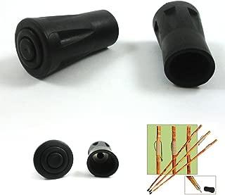 SE WS-2XTIP Rubber Tips for Walking Sticks (2-Pack)