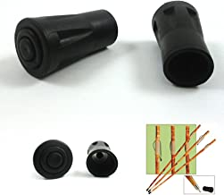 SE WS-2XTIP Rubber Tips for Walking Sticks (2-Pack)