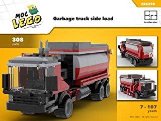 Garbage truck size load (Instruction Only): MOC LEGO