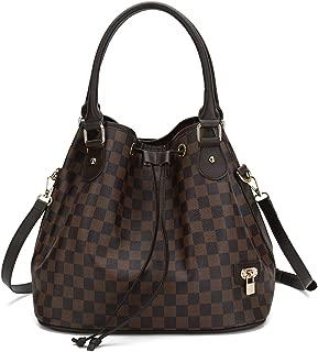 Leather Top Handle Handbags Satchel Shoulder Bag Tote Purse Hobo Messenger Travel Bags Set for Women