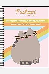 Pusheen 16-Month 2021-2022 Monthly/Weekly Planner Calendar Calendar
