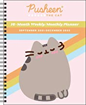 Pusheen 16-Month 2021–2022 Monthly/Weekly Planner Calendar
