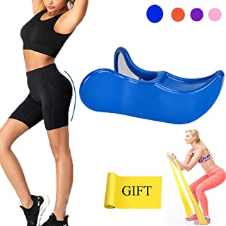 Rstcosplay Super Kegel Exerciser Pelvic Floor Muscle Medial Trainer for Women, Inner Thigh Exerciser and Hip Trainer Buttocks Lifting Correction Beautiful Buttocks Bladder Control Device