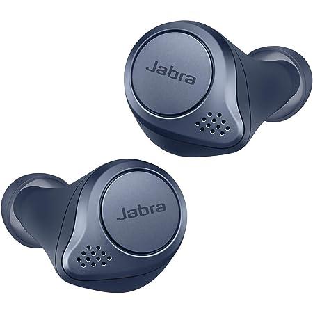 Jabra Elite Active 75t Sport Kopfhörer Mit Aktiver Geräuschunterdrückung Und Langer Akkulaufzeit Für True Wireless Erlebnis Bei Telefonaten Und Musik Marine Blau Elektronik
