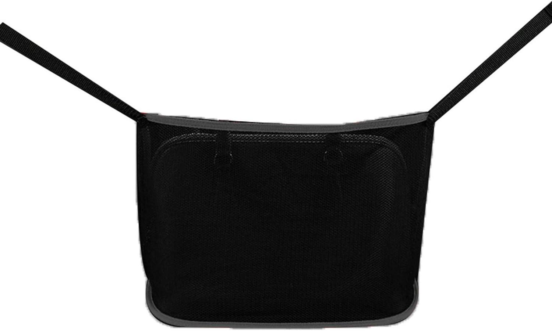 Driver Storage Netting Pouch With Bag On Back Handbag Holder Raining Car Net Pocket Handbag Holder Between Car Seat Back Organizer For Purse /& Pocket For Smaller Items Helps As Dog Barrier