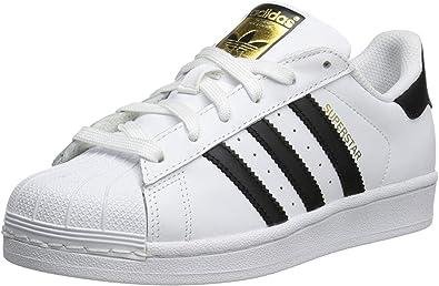 adidas boys Adidas Superstar J White/Black C77154
