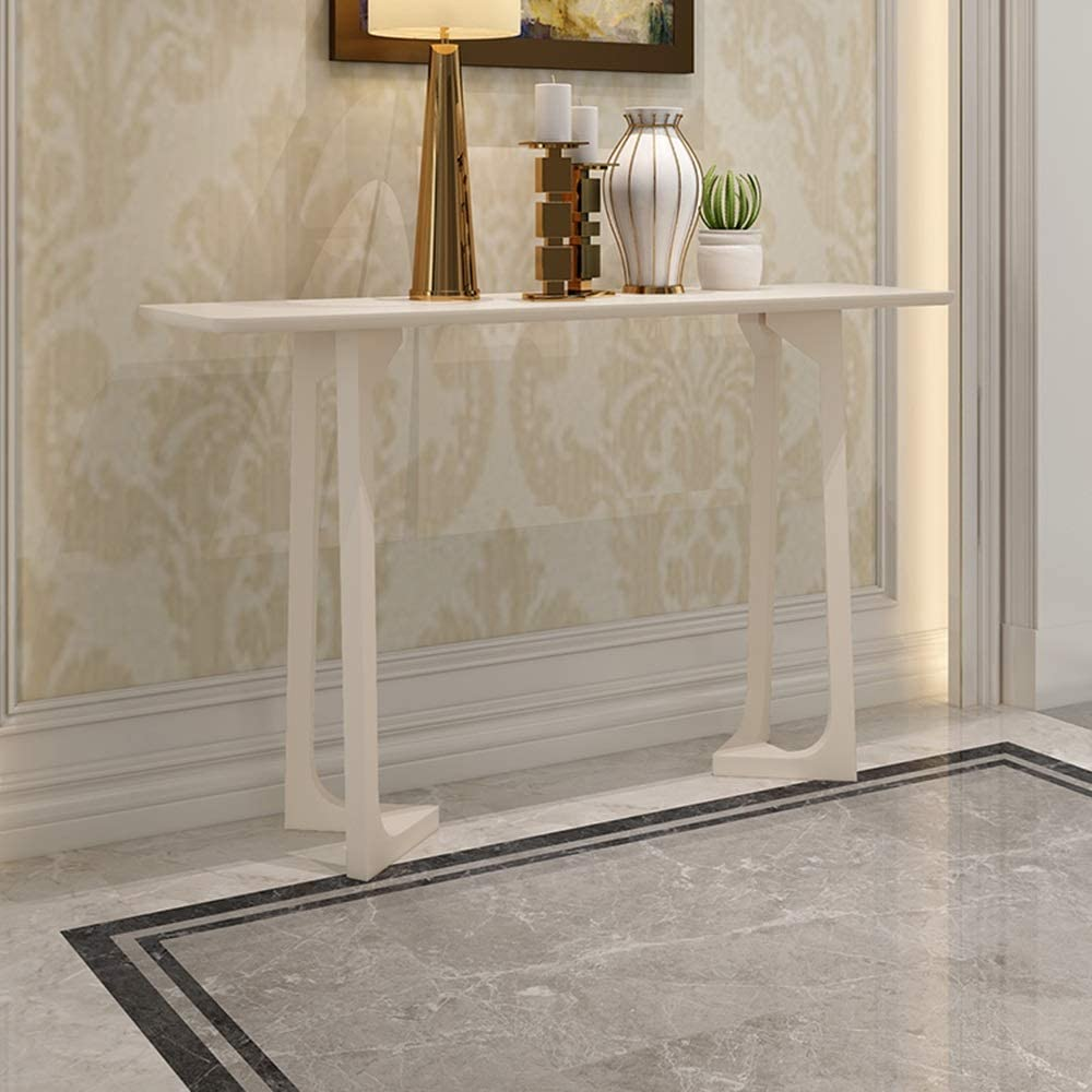 JIAYUAN Console Table Rubber Wood Sales for sale Tab Entryway Colorado Springs Mall Tv