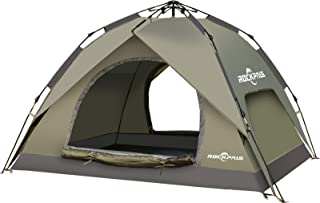 ROCKPALS Pop Up Tent Family Camping Tents Light Weight...