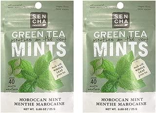 Sencha Naturals Moroccan Mint Green Tea Mini Bag 0.88oz (6 Pack)
