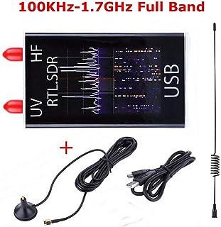 Studyset 100KHz-1.7GHz Full Band UV HF RTL-SDR USB Tuner Receiver/ R820T+8232 Ham Radio