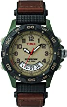 Timex Expedition Resin Combo Classic Analog Green/Black/Brown (38191)