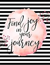 Find Joy In Your Journey: Notebooks For School