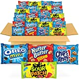 OREO Mini Cookies, CHIPS AHOY! Mini Cookies, SOUR PATCH KIDS Candy & Nutter Butter Bites Cookies &...