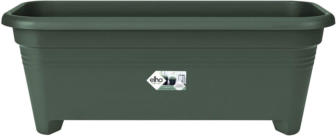 Ext/érieur Leaf Green Planteur L 26 x W 58.8 x H 21 cm Elho Green Basics Grand 60