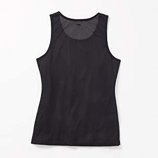 First Ever Women's Black Layering Mesh Tank