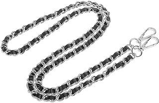 Baosity Purse Chain Strap Replacement - Handbag Leather Strap 120cm Long, Bag Repair Accessories